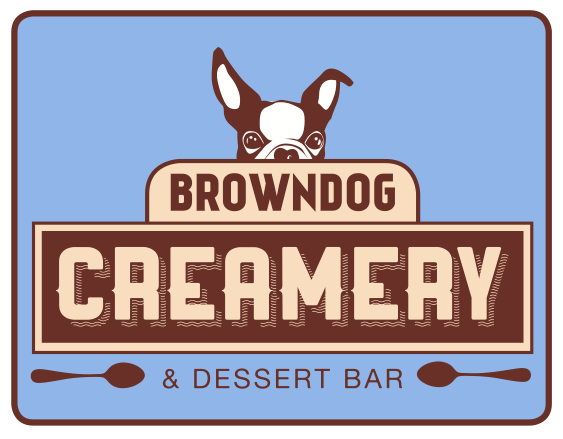 brown dog creamery logo